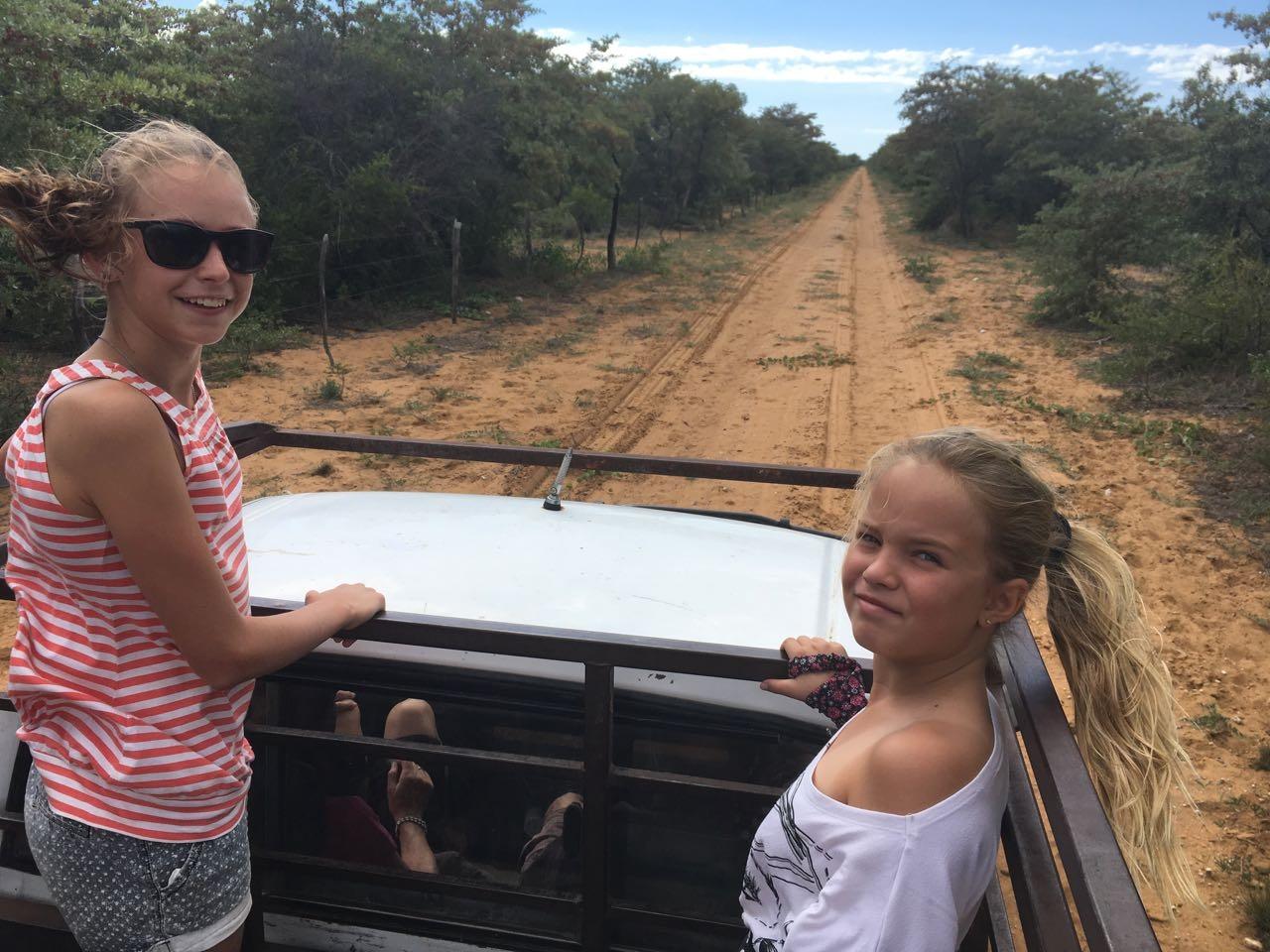 Fahrt zur Farm Eden