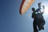 Gleitschirmfliegen in Iquique mit Philipp