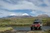 Zwillingsvulkane Pomerape 6250m Parinacota 6330m