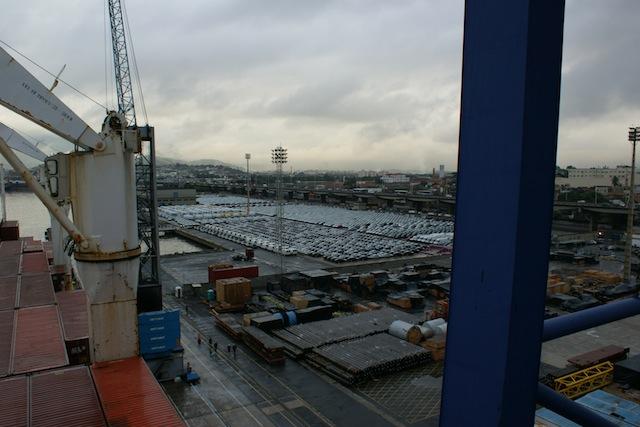 Hafen Santos Brasilien