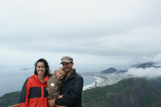 Auf dem Zuckerhut in Rio