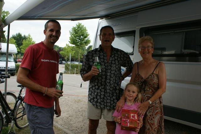Bad Krotzingen mit den Eltern
