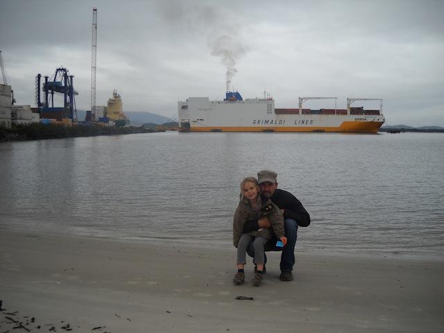 Hafen Paranagua Brasilien