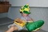 Alessandras 5. Geburtstag über dem Atlantik