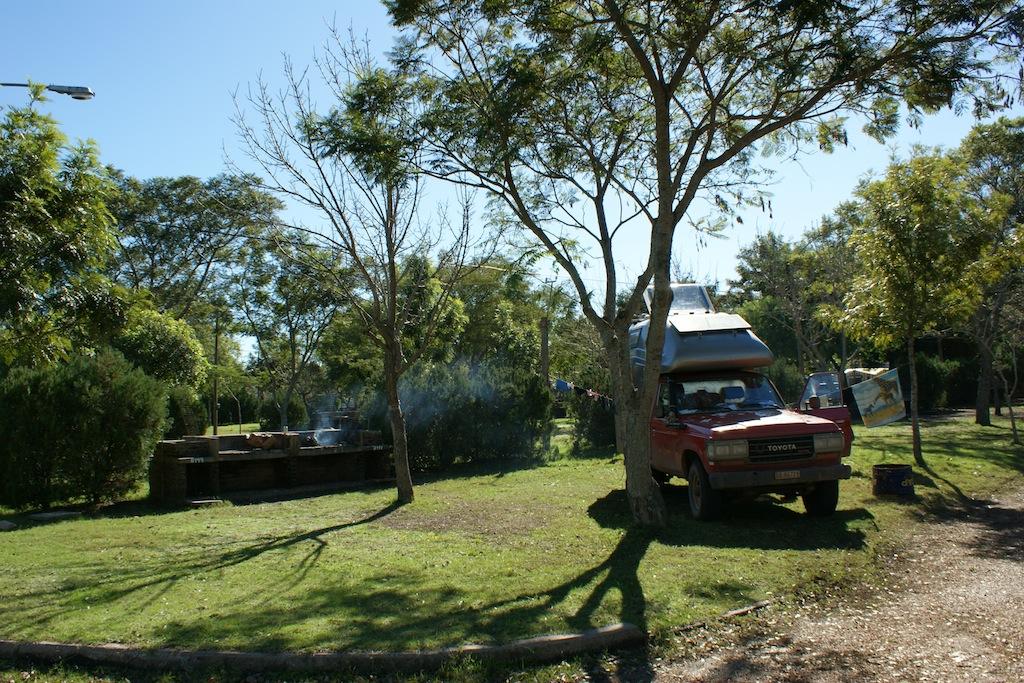 Camping Termas Arapey Uruguay