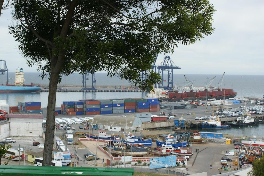 San Antonio Hafen von Landcruiser